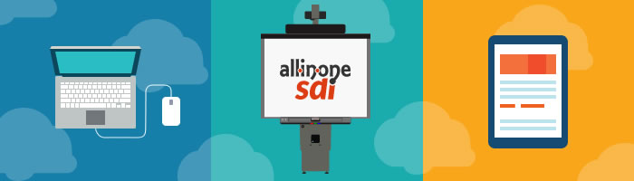 Aula TIC. All-in-one-SDI