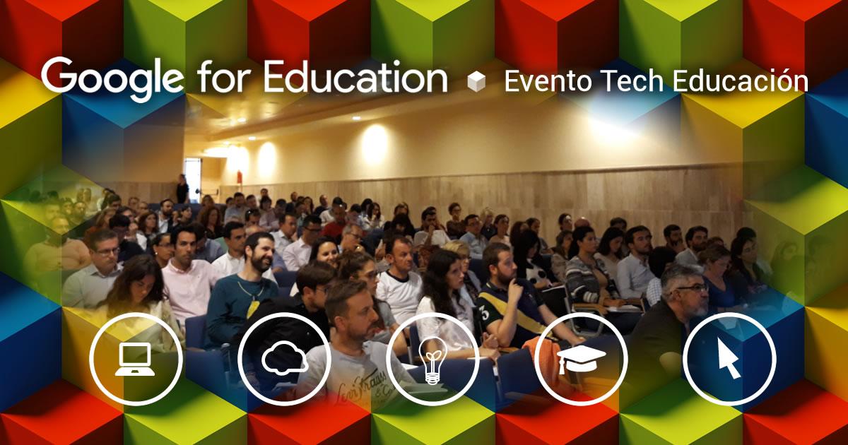 Evento Tech Educación en el Colegio Portaceli