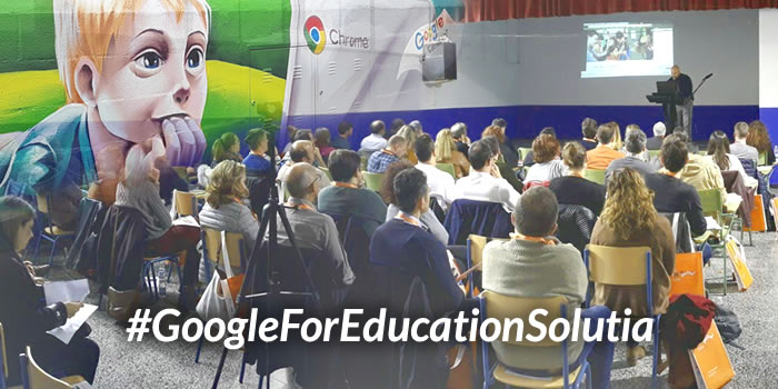 Evento Google for Education en Málaga de Grupo Solutia