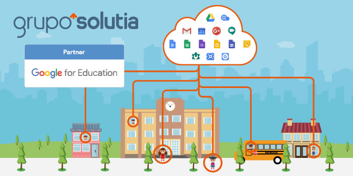 Grupo Solutia es partner Google for Education