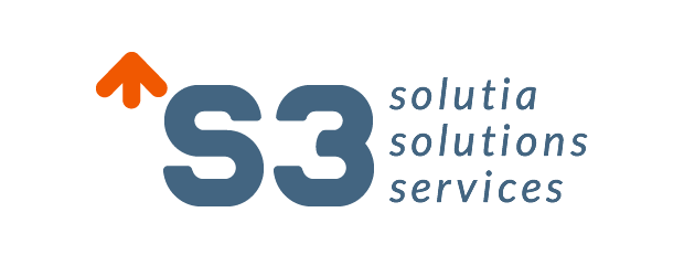Logotipo S3 - Solutia Solutions Services