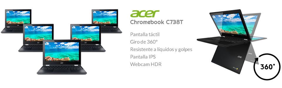 Sorteo de 5 ACER Chromebook