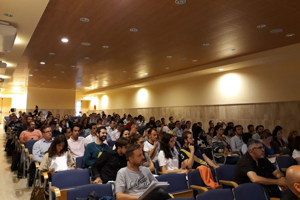 Público asistente al Evento Tech Educación