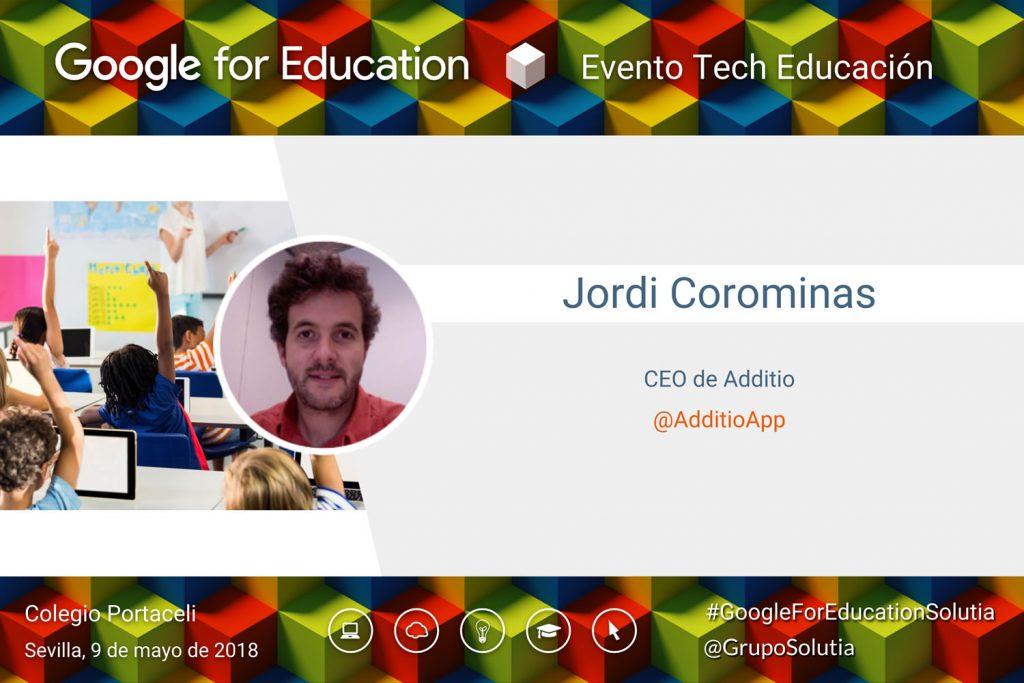 Presentación Jordi Corominas