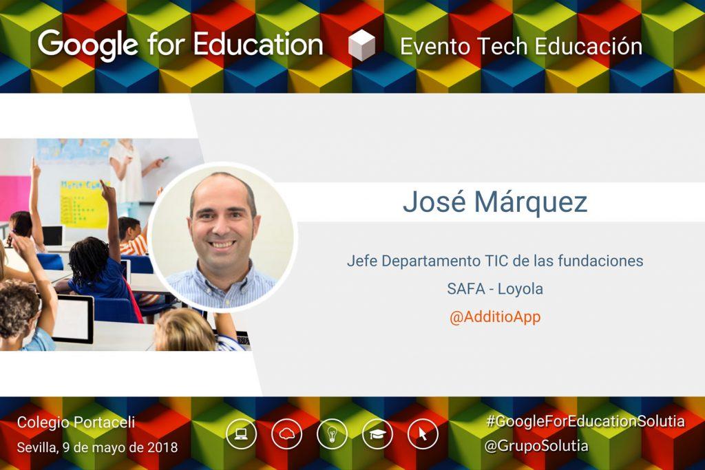 Presentación José Márquez