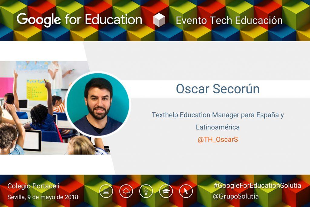 Presentación Oscar Secorún