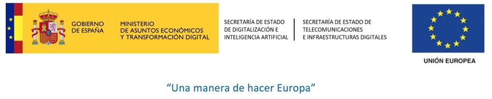 Logotipos institucionales. Proyecto subvencionado